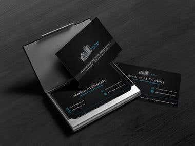 Egypt Kuwait Business Card Design