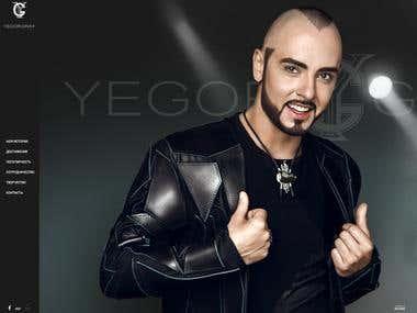 Yegor Gray. Promo Site.