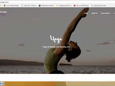Yoga Tips Website