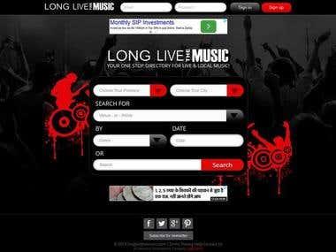 Directory Website: LongLiveTheMusic