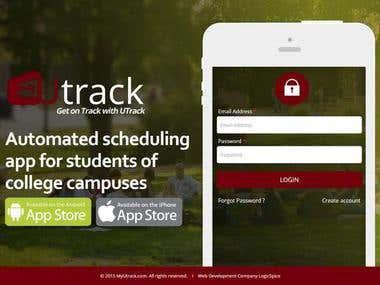 U Track : Schedule Tracking website