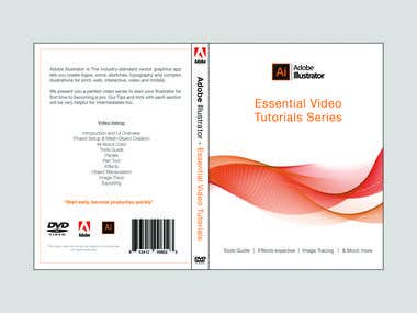 DVD Cover and Inlay design