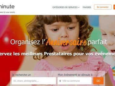 Gigminute: Event Marketplace Website