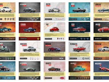 Cars from 1950's