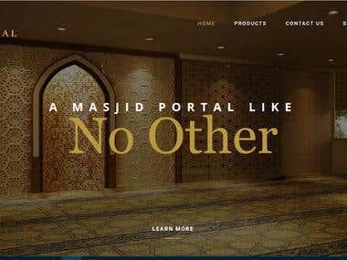 Project name MasjidAI - (Yii2)