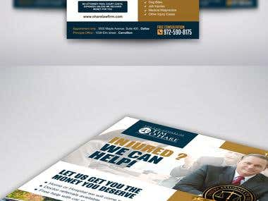 Adverts Flyer Design