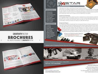 Brochure Designs for Huge Corporates