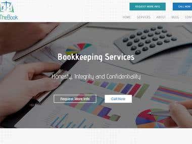 Accounting / Bookkeeping Website - http://bythebooklynda.com