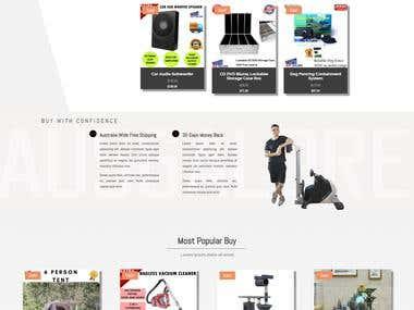 E-Commerce Site!