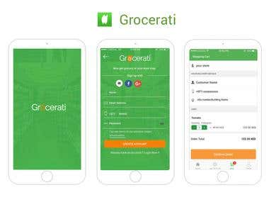 Grocerati - iPhone / iPad application