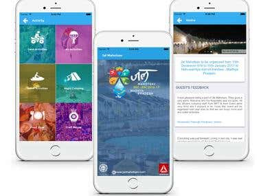 Jal Mahotsav - iPhone / iPad application