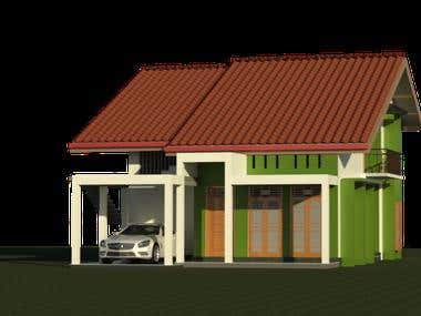 Four Bedroom Home(Revit)