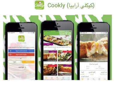 Cookly ( كوكلي أرابيا ) - iPhone / iPad application