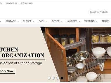 Online Shopping site Development