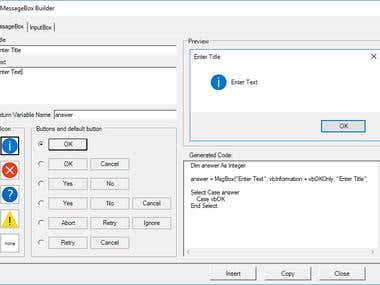 Excel VBA Addin - AutoMacro