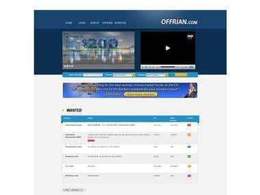 Website Offrian