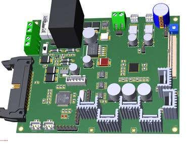 DSP PIC based Controller Card