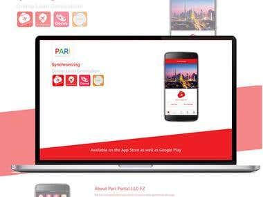 pari-portal eCommerce store