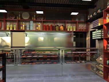 Food Shop Design