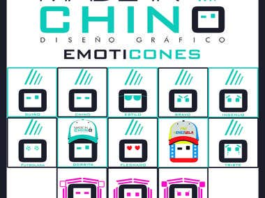 Emoticones Made in Chino DG