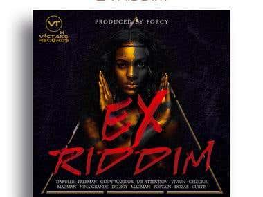 Design a CD Front Cover - Ex Riddim