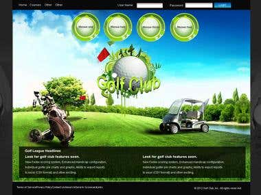 Golf website