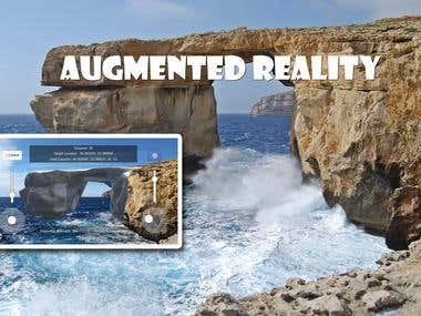 Augmented Reality Azure Window.