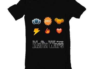 T-Shirt design concept for MW Fans