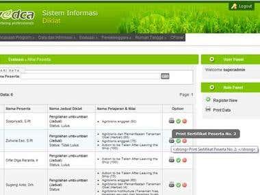 Training Information System
