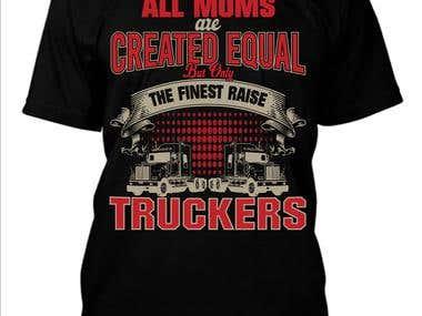 truck drive lover t-shirt