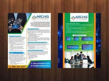 My Brochure/Flyer Designs