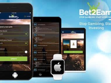 Bet2Earn Apps