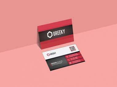 Elegant, Modern and professional Business Card Design