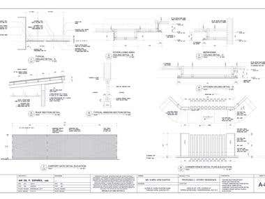 House Construction Drawings