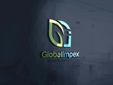 Logo Design For Global Impex