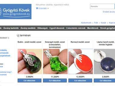 Shopping mall site using OpenCart