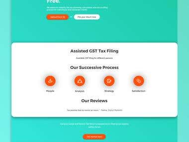 Landing Page for TruTax