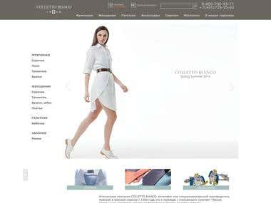 Redesign and improve loading speed for e-commerce site