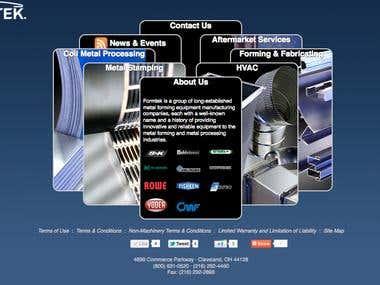Formtek Group Website