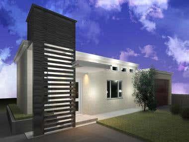 Design of Front Porch- Contest winner