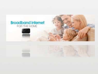 Air internet Banners