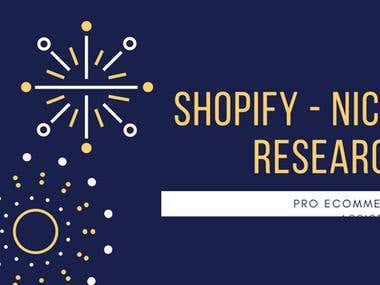 3 BEST PROFITABLE NICHES Research To Sell on Shopify