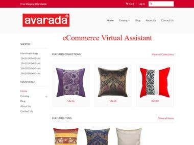 eCommerce Virtual Assistant for Amazon & Shopify