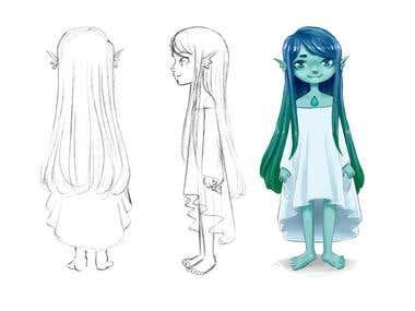 Talasa Characters Design