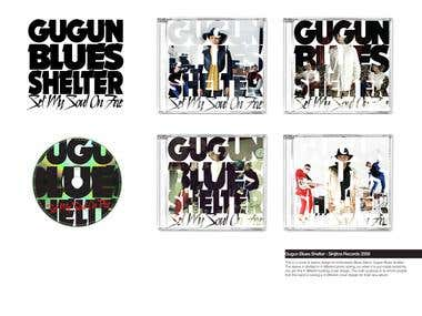 GUGUN BLUES SHELTER - ALBUM ART DIRECTION - 2008