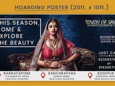 Concept Design & Branding | Hoarding Banner (20ft X 10ft)