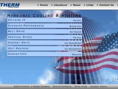 Airtherm HVAC Website