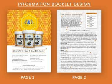 Information Booklet Design