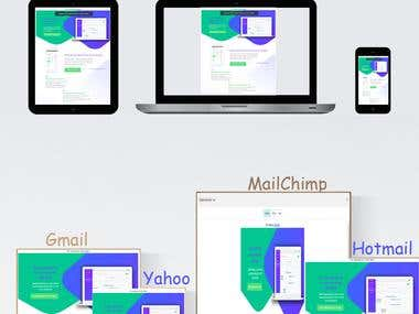 Email template responsive
