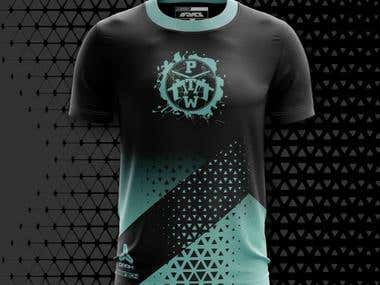 PTW - T shirt design